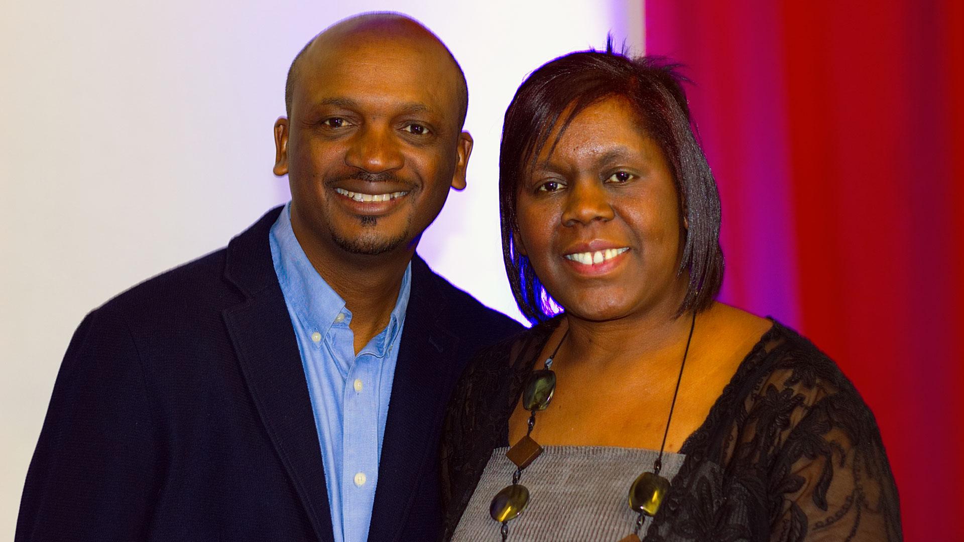 Ezekiel and Mahongo Shibemba